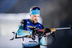 15.02.2020, Antholz, Italy (ITA):Simon Desthieux (FRA) - IBU World Championships Biathlon, sprint men, Antholz (ITA). www.nordicfocus.com. © Modica/NordicFocus. Every downloaded picture is fee-liable.