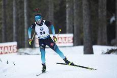 23.01.2020, Pokljuka, Slovenia (SLO):Fabien Claude (FRA) -  IBU world cup biathlon, individual men, Pokljuka (SLO). www.nordicfocus.com. © Manzoni/NordicFocus. Every downloaded picture is fee-liable.