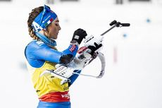 16.02.2020, Antholz, Italy (ITA):Dorothea Wierer (ITA) - IBU World Championships Biathlon, pursuit women, Antholz (ITA). www.nordicfocus.com. © Modica/NordicFocus. Every downloaded picture is fee-liable.