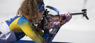18.02.2020, Antholz, Italy (ITA):Hanna Oeberg (SWE) - IBU World Championships Biathlon, individual women, Antholz (ITA). www.nordicfocus.com. © Manzoni/NordicFocus. Every downloaded picture is fee-liable.