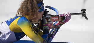 18.02.2020, Antholz, Italy (ITA):Hanna Oeberg (SWE) - IBU World Championships Biathlon, individual women, Antholz (ITA). www.nordicfocus.com. © Manzoni/NordicFocus. Every downloaded picture is fee-liable.