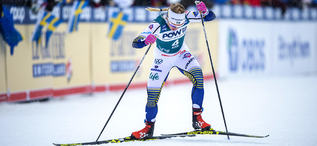 18.02.2020, Are, Sweden (SWE):Jonna Sundling (SWE) - FIS world cup cross-country, individual sprint, Are (SWE). www.nordicfocus.com. © Thibaut/NordicFocus. Every downloaded picture is fee-liable.