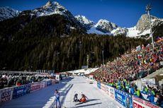 18.02.2020, Antholz, Italy (ITA): Venue  - IBU World Championships Biathlon, individual women, Antholz (ITA). www.nordicfocus.com. © Modica/NordicFocus. Every downloaded picture is fee-liable.