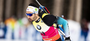19.02.2020, Antholz, Italy (ITA):Martin Fourcade (FRA) - IBU World Championships Biathlon, individual men, Antholz (ITA). www.nordicfocus.com. © Modica/NordicFocus. Every downloaded picture is fee-liable.