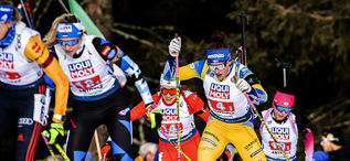 13.02.2020, Antholz, Italy (ITA):Linn Persson (SWE) - IBU World Championships Biathlon, relay mixed, Antholz (ITA). www.nordicfocus.com. © Modica/NordicFocus. Every downloaded picture is fee-liable.