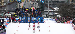 12.03.2019, Drammen, Norway (NOR): Venue - FIS world cup cross-country, individual sprint, Drammen (NOR). www.nordicfocus.com. © Lyngstad/NordicFocus. Every downloaded picture is fee-liable.