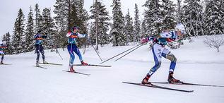 20.02.2020, Storlien-Meraker, Norway (NOR):Emma Ribom (SWE) - FIS world cup cross-country, mass women, Storlien-Meraker (NOR). www.nordicfocus.com. © Thibaut/NordicFocus. Every downloaded picture is fee-liable.