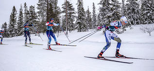 20.02.2020, Storlien-Meraker, Norway (NOR):Emma Ribom (SWE) - FIS world cup cross-country, mass women, Storlien-Meraker (NOR). www.nordicfocus.com. © Thibaut/NordicFocus. Every downloaded picture is fee-liable.