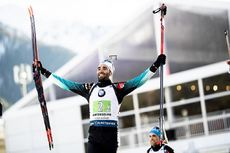 22.02.2020, Antholz, Italy (ITA):Martin Fourcade (FRA) - IBU World Championships Biathlon, relay men, Antholz (ITA). www.nordicfocus.com. © Modica/NordicFocus. Every downloaded picture is fee-liable.