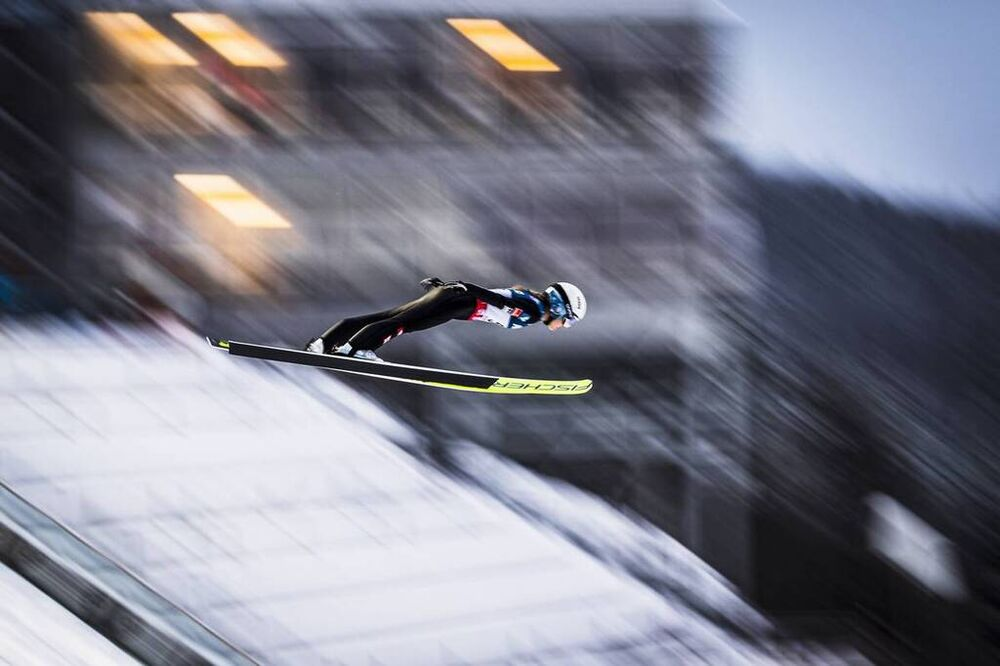 08.12.2019, Lillehammer, Norway (NOR):Chiara Hoelzl (AUT) - FIS world cup ski jumping ladies, individual HS140, Lillehammer (NOR). www.nordicfocus.com. © Modica/NordicFocus. Every downloaded picture is fee-liable.