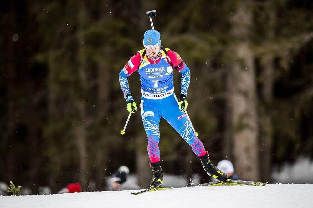 19.02.2020, Antholz, Italy (ITA):Alexander Loginov (RUS) - IBU World Championships Biathlon, individual men, Antholz (ITA). www.nordicfocus.com. © Modica/NordicFocus. Every downloaded picture is fee-liable.