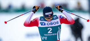 23.02.2020, Trondheim, Norway (NOR):Paal Golberg (NOR) - FIS world cup cross-country, pursuit men, Trondheim (NOR). www.nordicfocus.com. © Thibaut/NordicFocus. Every downloaded picture is fee-liable.
