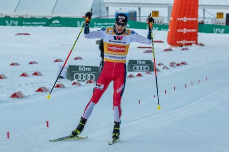 23.02.2020, Trondheim, Norway (NOR):Jarl Magnus Riiber (NOR) - FIS world cup nordic combined, individual gundersen HS138/10km, Trondheim (NOR). www.nordicfocus.com. © Volk/NordicFocus. Every downloaded picture is fee-liable.