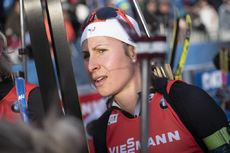 21.12.2019, Annecy-Le Grand Bornand, France (FRA):Caroline Colombo (FRA) -  IBU world cup biathlon, pursuit women, Annecy-Le Grand Bornand (FRA). www.nordicfocus.com. © Thibaut/NordicFocus. Every downloaded picture is fee-liable.