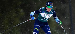 23.02.2020, Trondheim, Norway (NOR):Krista Parmakoski (FIN) - FIS world cup cross-country, pursuit women, Trondheim (NOR). www.nordicfocus.com. © Thibaut/NordicFocus. Every downloaded picture is fee-liable.