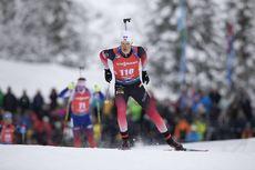 13.12.2019, Hochfilzen, Austria (AUT):Aleksander Fjeld Andersen (NOR) - IBU world cup biathlon, sprint men, Hochfilzen (AUT). www.nordicfocus.com. © Manzoni/NordicFocus. Every downloaded picture is fee-liable.