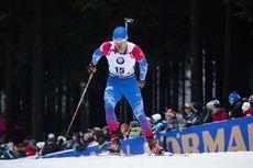10.01.2020, Oberhof, Germany (GER):Matvey Eliseev (RUS) -  IBU world cup biathlon, sprint men, Oberhof (GER). www.nordicfocus.com. © Manzoni/NordicFocus. Every downloaded picture is fee-liable.