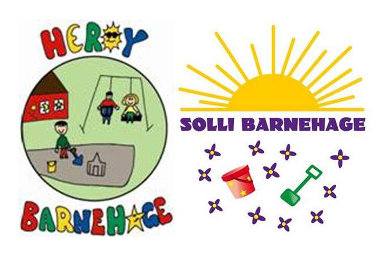 Logo Herøy barnehage og Solli barnehage