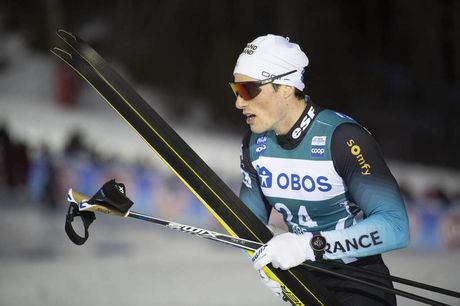 18.02.2020, Are, Sweden (SWE):Lucas Chanavat (FRA) - FIS world cup cross-country, individual sprint, Are (SWE). www.nordicfocus.com. © Thibaut/NordicFocus. Every downloaded picture is fee-liable.