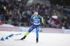01.12.2019, Oestersund, Sweden, (SWE):Anton Smolski (BLR) - IBU world cup biathlon, sprint men, Oestersund (SWE). www.nordicfocus.com. © Manzoni/NordicFocus. Every downloaded picture is fee-liable.