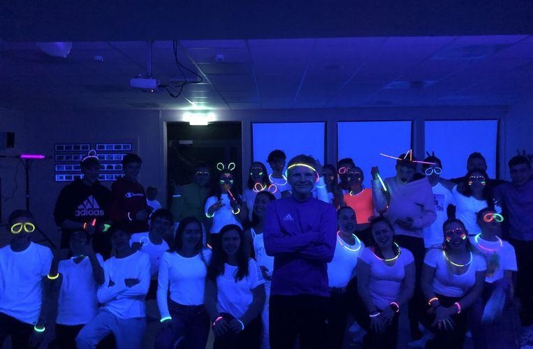 Neon Party på ungdomsklubben_alle