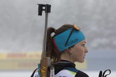 07.01.2020, Oberhof, Germany (GER):Chloe Chevalier (FRA) -  IBU world cup biathlon, training, Oberhof (GER). www.nordicfocus.com. © Manzoni/NordicFocus. Every downloaded picture is fee-liable.