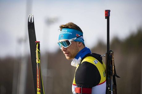 26.02.2020, Minsk-Raubichi, Belarus (BLR):Emilien Claude (FRA) - IBU Open European Championships Biathlon, SuperSprint men, Minsk-Raubichi (BLR). www.nordicfocus.com. © Manzoni/NordicFocus. Every downloaded picture is fee-liable.
