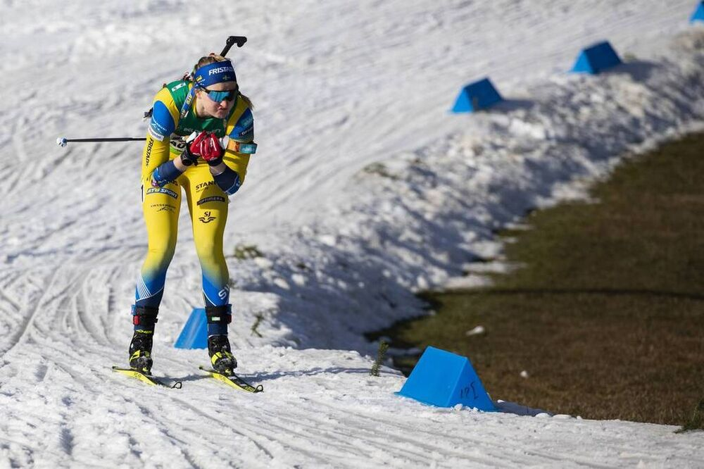 26.02.2020, Minsk-Raubichi, Belarus (BLR):Emma Nilsson (SWE) - IBU Open European Championships Biathlon, SuperSprint women, Minsk-Raubichi (BLR). www.nordicfocus.com. © Manzoni/NordicFocus. Every downloaded picture is fee-liable.