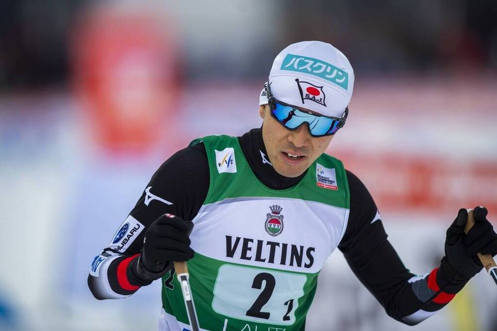 29.02.2020 Lahti, Finland (FIN):Akito Watabe (JPN) - FIS world cup nordic combined, team sprint HS130/2x7.5km, Lahti (FIN). www.nordicfocus.com. © THIBAUT/NordicFocus. Every downloaded picture is fee-liable.