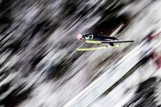 01.03.2020, Lahti, Finland (FIN):Karl Geiger (GER) - FIS world cup ski jumping, individual HS130, Lahti (FIN). www.nordicfocus.com. © Modica/NordicFocus. Every downloaded picture is fee-liable.