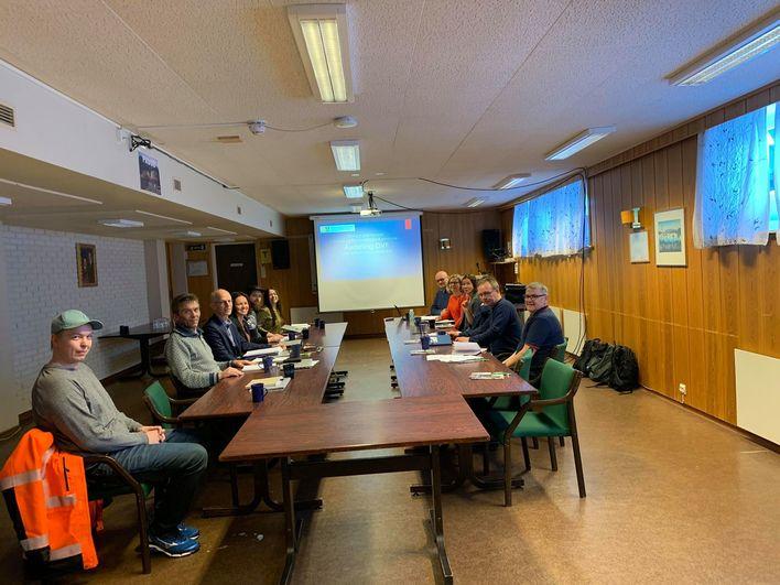 Troms og Finnmark fylkeskommune møte i nordreisa