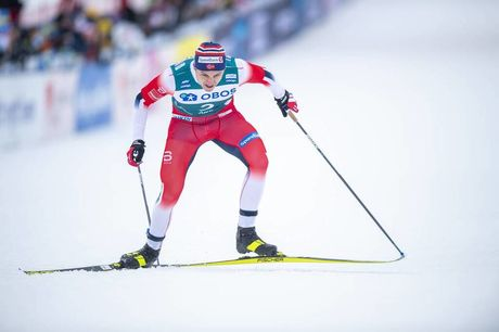 18.02.2020, Are, Sweden (SWE):Erik Valnes (NOR) - FIS world cup cross-country, individual sprint, Are (SWE). www.nordicfocus.com. © Thibaut/NordicFocus. Every downloaded picture is fee-liable.
