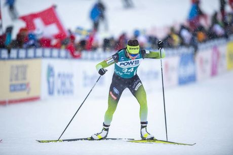 18.02.2020, Are, Sweden (SWE):Katja Visnar (SLO) - FIS world cup cross-country, individual sprint, Are (SWE). www.nordicfocus.com. © Thibaut/NordicFocus. Every downloaded picture is fee-liable.