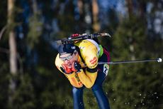 26.02.2020, Minsk-Raubichi, Belarus (BLR):Lucas Fratzscher (GER) - IBU Open European Championships Biathlon, SuperSprint men, Minsk-Raubichi (BLR). www.nordicfocus.com. © Manzoni/NordicFocus. Every downloaded picture is fee-liable.