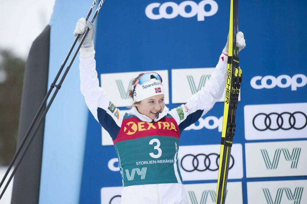 20.02.2020, Storlien-Meraker, Norway (NOR):Ingvild Flugstad Oestberg (NOR) - FIS world cup cross-country, mass women, Storlien-Meraker (NOR). www.nordicfocus.com. © Thibaut/NordicFocus. Every downloaded picture is fee-liable.
