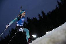05.03.2020, Nove Mesto, Czech Republic (CZE):Anais Bescond (FRA) - IBU world cup biathlon, sprint women, Nove Mesto (CZE). www.nordicfocus.com. © Manzoni/NordicFocus. Every downloaded picture is fee-liable.