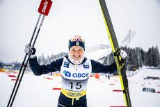07.03.2020, Oslo, Norway (NOR):Frida Karlsson (SWE) - FIS world cup cross-country, mass women, Oslo (NOR). www.nordicfocus.com. © Modica/NordicFocus. Every downloaded picture is fee-liable.