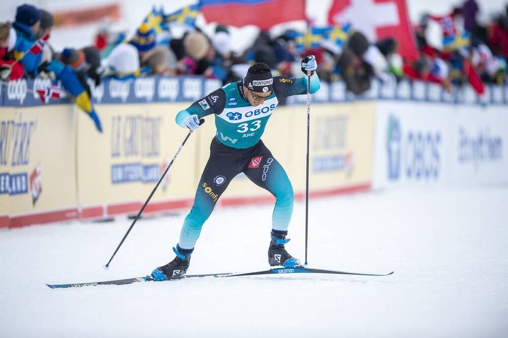 18.02.2020, Are, Sweden (SWE):Richard Jouve (FRA) - FIS world cup cross-country, individual sprint, Are (SWE). www.nordicfocus.com. © Thibaut/NordicFocus. Every downloaded picture is fee-liable.
