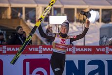 07.12.2019, Lillehammer, Norway (NOR):Maren Lundby (NOR) - FIS world cup ski jumping ladies, individual HS140, Lillehammer (NOR). www.nordicfocus.com. © Vianney THIBAUT/NordicFocus. Every downloaded picture is fee-liable.