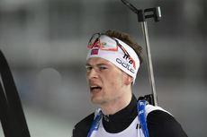 06.03.2020, Nove Mesto, Czech Republic (CZE):Sturla Holm Laegreid (NOR) - IBU World Cup Biathlon, sprint men, Nove Mesto (CZE). www.nordicfocus.com. © Manzoni/NordicFocus. Every downloaded picture is fee-liable.
