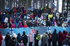 11.03.2018, Kontiolahti, Finland (FIN):Marte Olsbu (NOR) - IBU world cup biathlon, mass women, Kontiolahti (FIN). www.nordicfocus.com. © Manzoni/NordicFocus. Every downloaded picture is fee-liable.