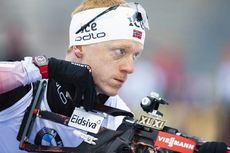 06.03.2020, Nove Mesto, Czech Republic (CZE):Johannes Thingnes Boe (NOR) - IBU World Cup Biathlon, sprint men, Nove Mesto (CZE). www.nordicfocus.com. © Manzoni/NordicFocus. Every downloaded picture is fee-liable.