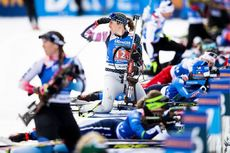 20.02.2020, Antholz, Italy (ITA):Susan Dunklee (USA) - IBU World Championships Biathlon, single mixed relay, Antholz (ITA). www.nordicfocus.com. © Modica/NordicFocus. Every downloaded picture is fee-liable.