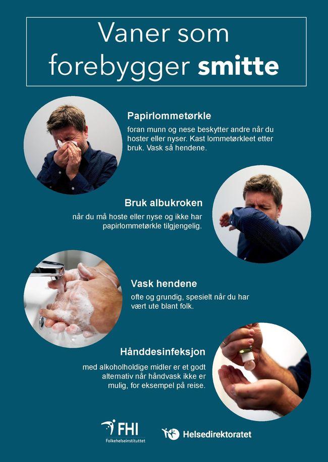 Hygieneplakat bilde
