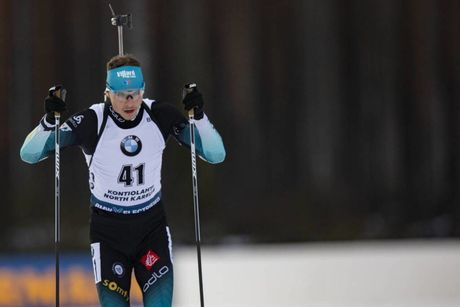 12.03.2020, Kontiolahti, Finland (FIN):Emilien Jacquelin (FRA) -  IBU World Cup Biathlon, sprint men, Kontiolahti (FIN). www.nordicfocus.com. © Manzoni/NordicFocus. Every downloaded picture is fee-liable.