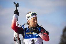 08.03.2020, Nove Mesto, Czech Republic (CZE):Tiril Eckhoff (NOR) - IBU world cup biathlon, mass women, Nove Mesto (CZE). www.nordicfocus.com. © Manzoni/NordicFocus. Every downloaded picture is fee-liable.