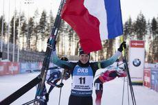 14.03.2020, Kontiolahti, Finland (FIN):Julia Simon (FRA) -  IBU world cup biathlon, pursuit women, Kontiolahti (FIN). www.nordicfocus.com. © Manzoni/NordicFocus. Every downloaded picture is fee-liable.