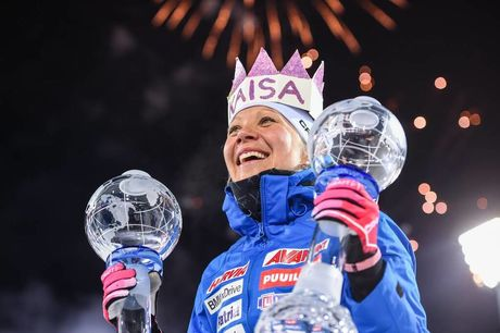 25.03.2018, Tyumen, Russia (RUS):Kaisa Makarainen (FIN) - IBU world cup biathlon, cups, Tyumen (RUS). www.nordicfocus.com. © Tumashov/NordicFocus. Every downloaded picture is fee-liable.