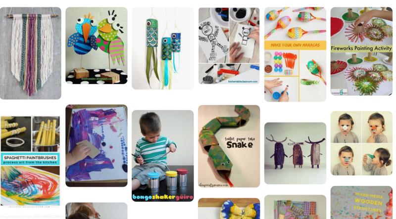 Illustrasjon aktivitet for barn