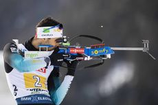13.02.2020, Antholz, Italy (ITA):Martin Fourcade (FRA) - IBU World Championships Biathlon, relay mixed, Antholz (ITA). www.nordicfocus.com. © Manzoni/NordicFocus. Every downloaded picture is fee-liable.